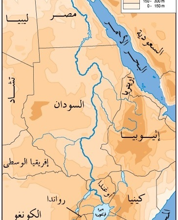 """بالخرائط: """"نهر النيل .. المكون الجغرافي للذات المصرية"""" للدكتور ..."""