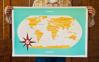 خريطة للعالم بواسطة Jen Adrion & Omar Noory و هم متخصصون فى التصميم بالتقنيات الحدثية