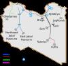 خريطة النهر العظيم في ليبيا 5