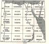 خريطة الاساس لخرائط مصر الجيولوجية