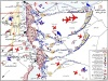 خريطة حرب اكتوبر: رؤوس الكبار