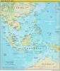 خريطة جنوب شرق آسيا