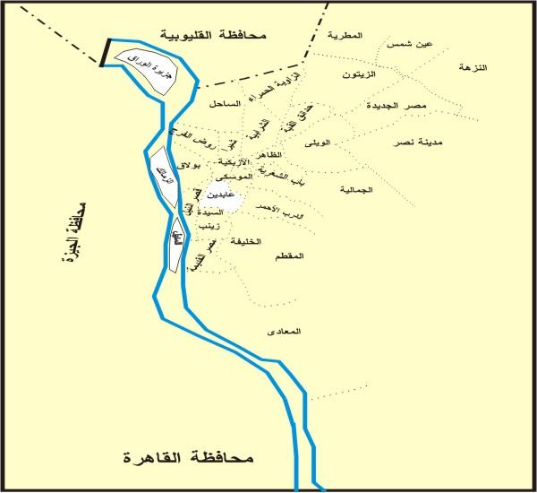خرائط محافظات مصر من موسوعة مصر الجغرافية خطوات في الجغرافيا