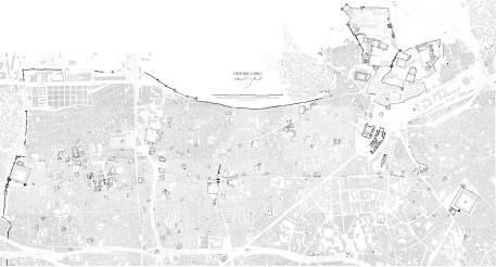 خرائط «آثـار القاهرة الإسلامية» من مركز البحوث الامريكية